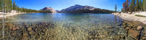 Yosemite National Park, Panorama of Lake Tenaya (Tioga Pass), C