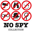 Anti-spyware icon Vector illustration