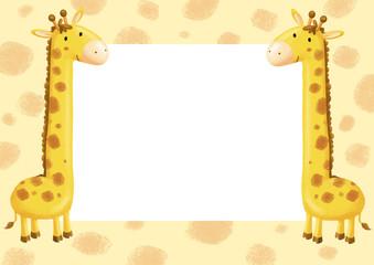 marco de jirafa
