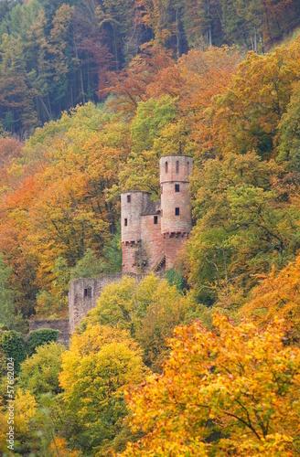 Burg Schadeck in Neckarsteinach