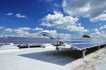 Solaranlage auf Dach