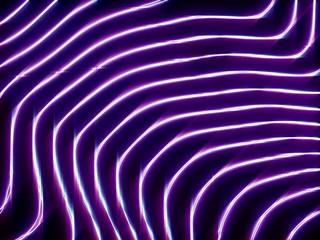 wave glow scroll