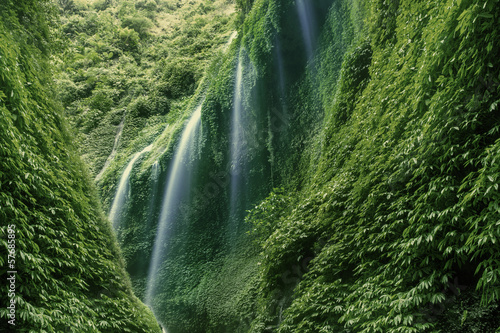 Plakat Madakaripura Wodospad w Indonezji