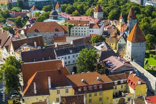 Tallinn Estonia Rooftops