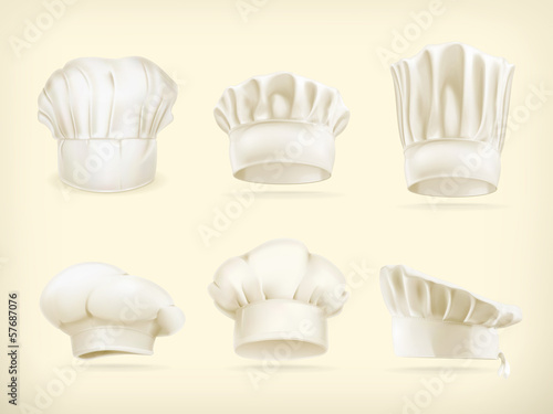 Chef hats set