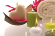 Wellness Kerzen Seife Herz Magnolien
