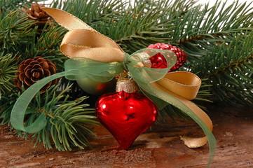Weihnachtsbaumschmuck Herz