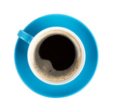 Fototapety Blue coffee cup