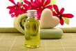 Wellness Magnolien Herz Öl Tuch Seife