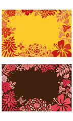南国の花カード