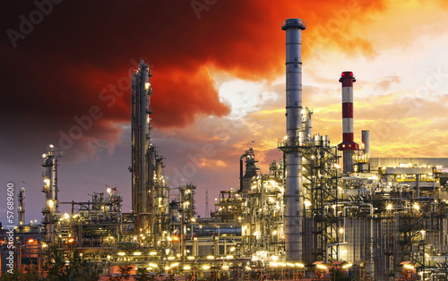 Oil indutry refinery - factory - 57689600