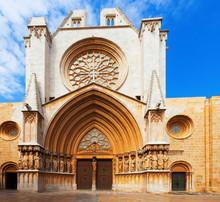 Façade de la cathédrale de Tarragone