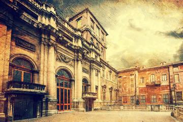 Palazzo Barberini. Rome. Italy.