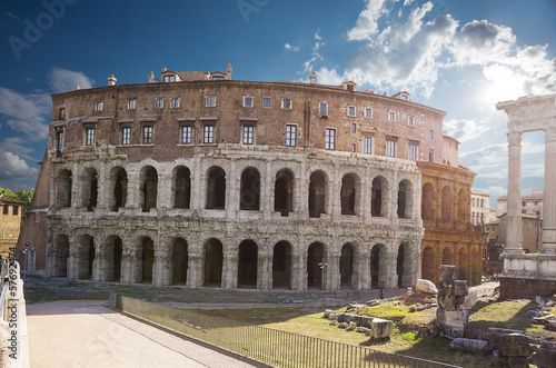 Teatro di Marcello. Theatre of Marcellus. Rome. Italy.