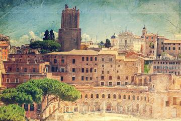 Trajan's Market (Mercati Traianei). Rome. Italy.