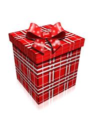 Подарок.Подарочная коробка.Векторная иллюстрация.