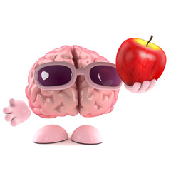Brain loves apples
