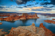 Leinwandbild Motiv Lake Powell from Alstrom Point