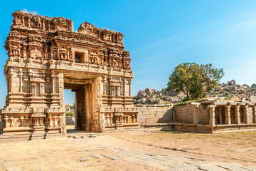 Old City Gate in Hampi