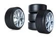 Stapel Reifen Reifen mit Felge 3D