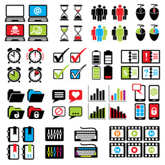 set web computer icons