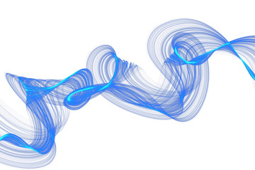 abstract twisted net wave