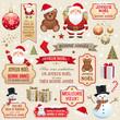 Eléments Noël et nouvelle année