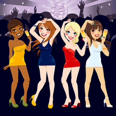 Women Disco Party