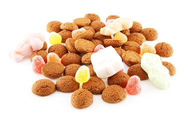 Typical dutch sweets: pepernoten (ginger nuts)