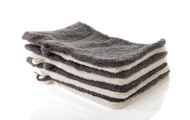 Pile of washcloths