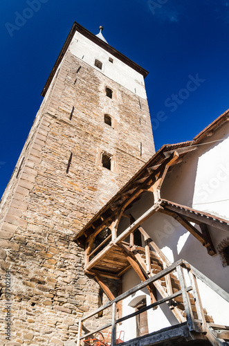 Mosna fortified church, Transylvania