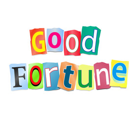 Good fortune concept.