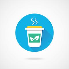 Vector Tea Cup Icon