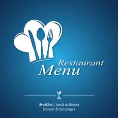 Menu Restaurant_blue