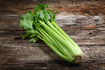 Organic vegetables - celery. Food background