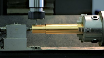 A metal lathe or metalworking lathe ProRes