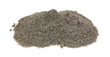 Organic Buckwheat Flour on White