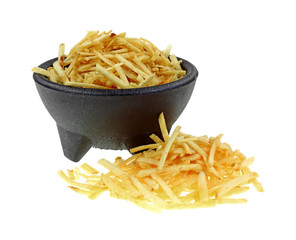 Potato Sticks Front and in Bowl