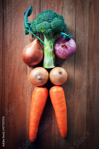 idea for healthy care eating vegetable
