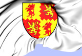 Carmarthenshire Coat of Arms, Wales.
