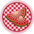 Watermelon Label Design