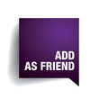 Add as friend label