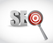 target seo illustration design