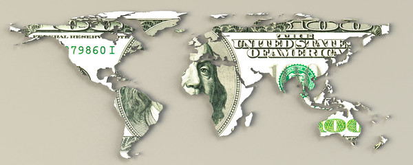 Dollar Domination World Map