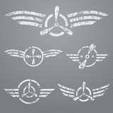 Airforce emblem set