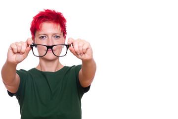 Sehschwäche dank Brille beheben