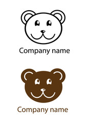 "Logo ""Chocolate sweet bear"""