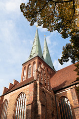 medieval Saint Nicholas Church in Berlin