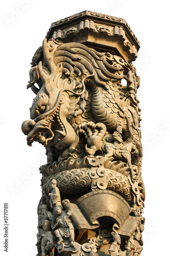 Dragon column