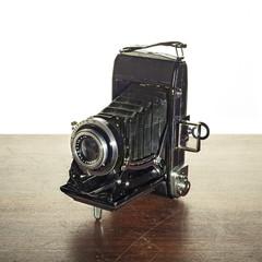 macchina fotografica a soffietto